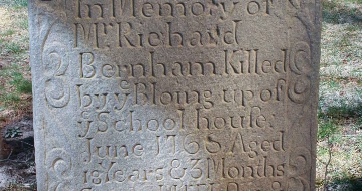 richard burnham headstone