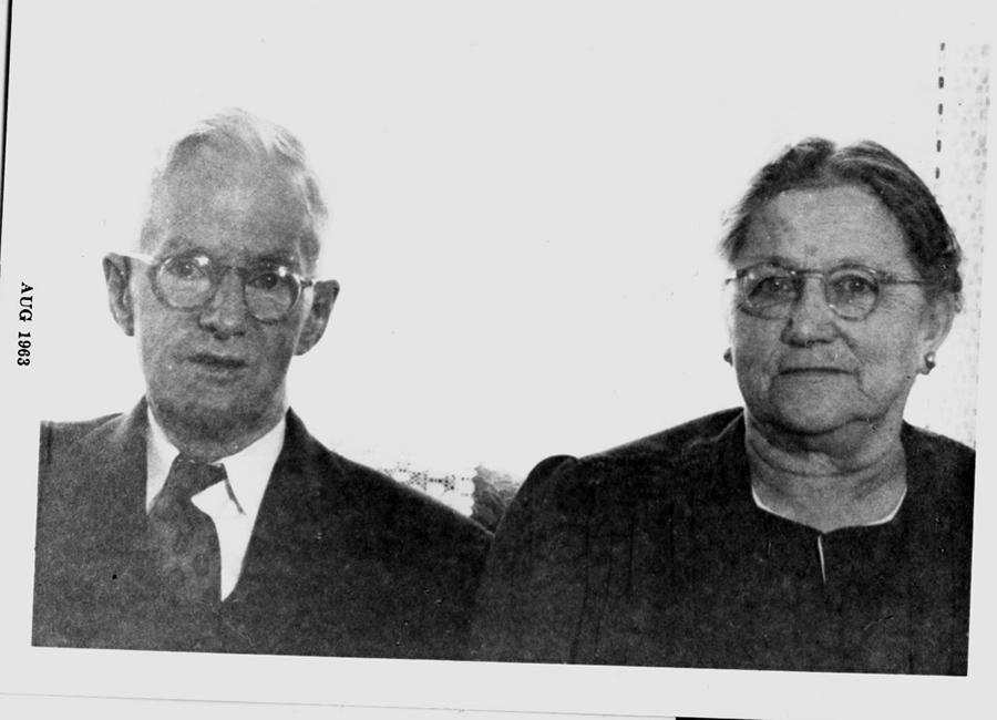 """Edward Stanford and Ellen """"Nellie"""" Bannon"""