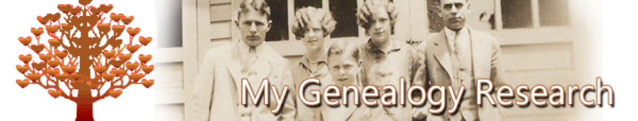My Genealogy Research