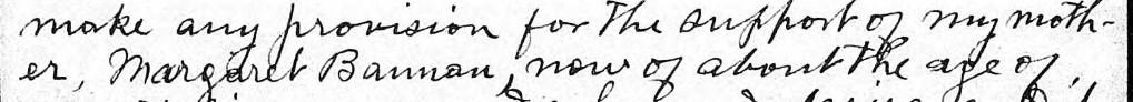Margaret Bannon name